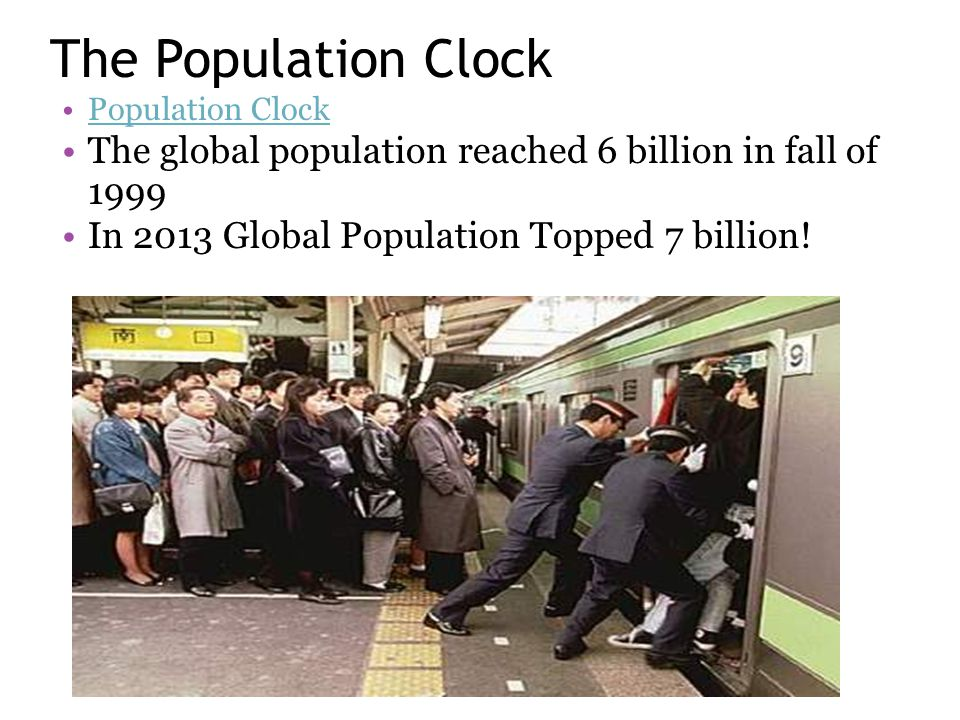 3 1 Human population growth - ppt download