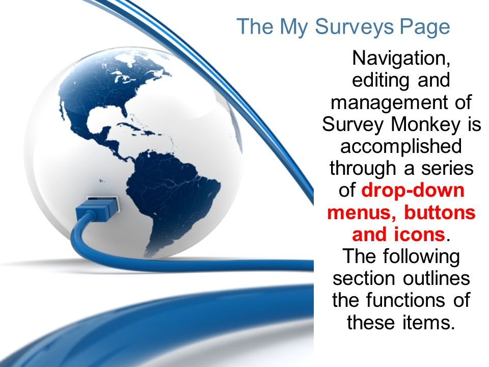 The My Surveys Page