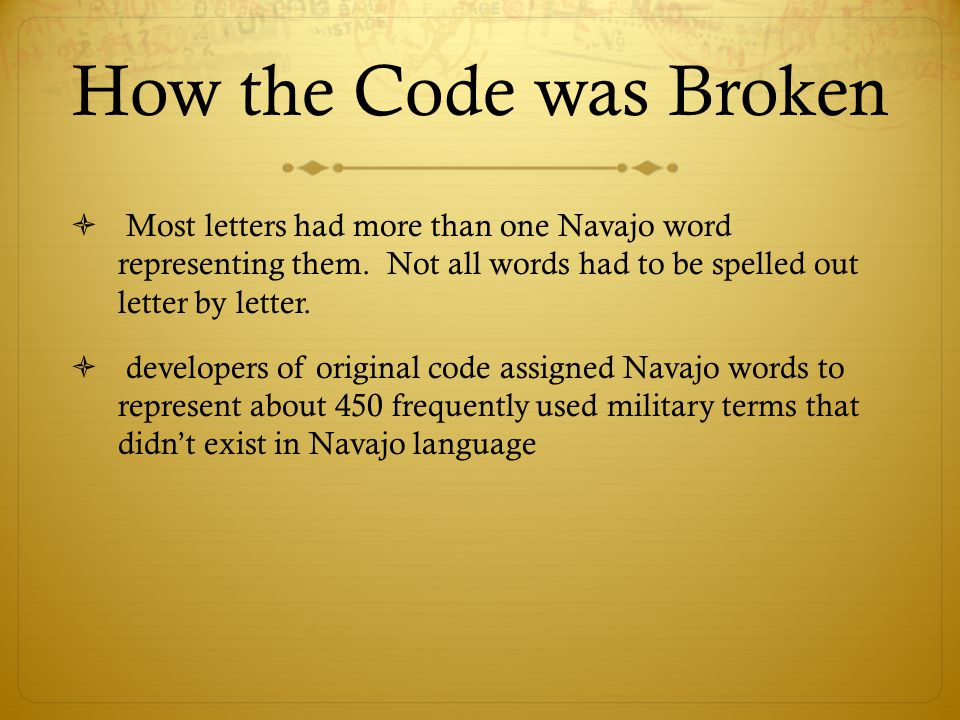 words out of letters confederate cipher disk ppt 25713 | How the Code was Broken Most letters had more than one Navajo word representing them. Not all words had to be spelled out letter by letter.