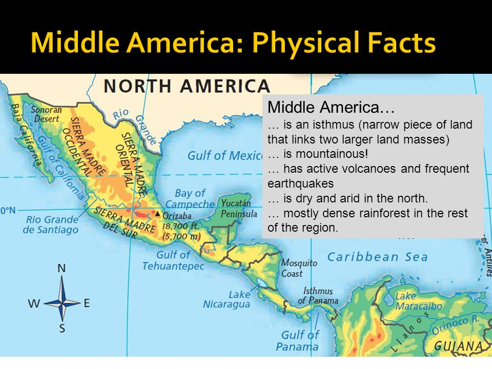 Physical Features of Latin America - ppt video online download