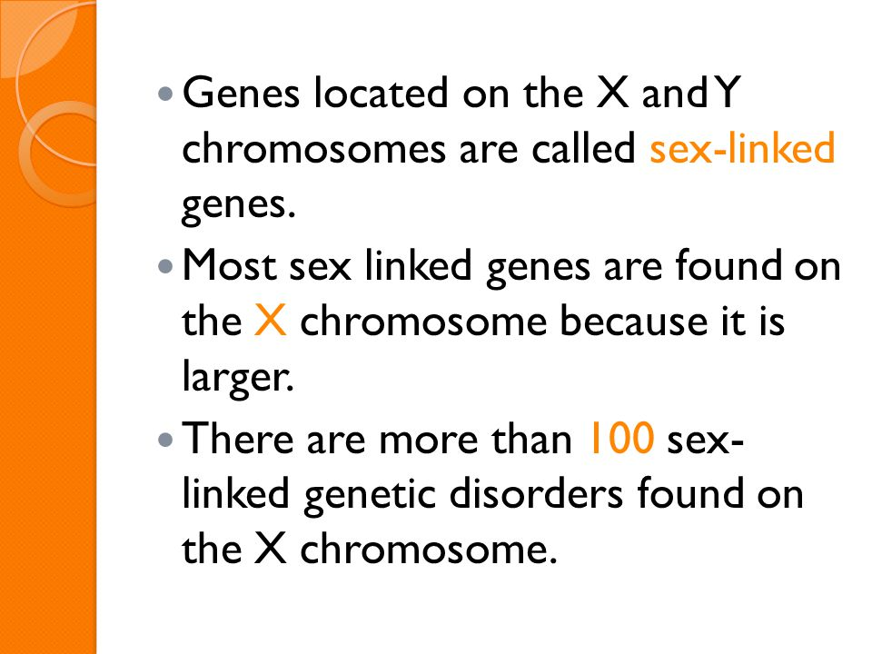 Most sex-linked genes are found on the foto 27