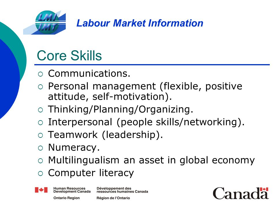 Core Skills Communications.