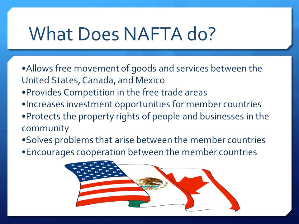 who did nafta benefit the most essay Nafta is limping toward its 20 th anniversary with a beat-up image and a bad track record recent polls show that the majority of the us people favors leaving or renegotiating the.