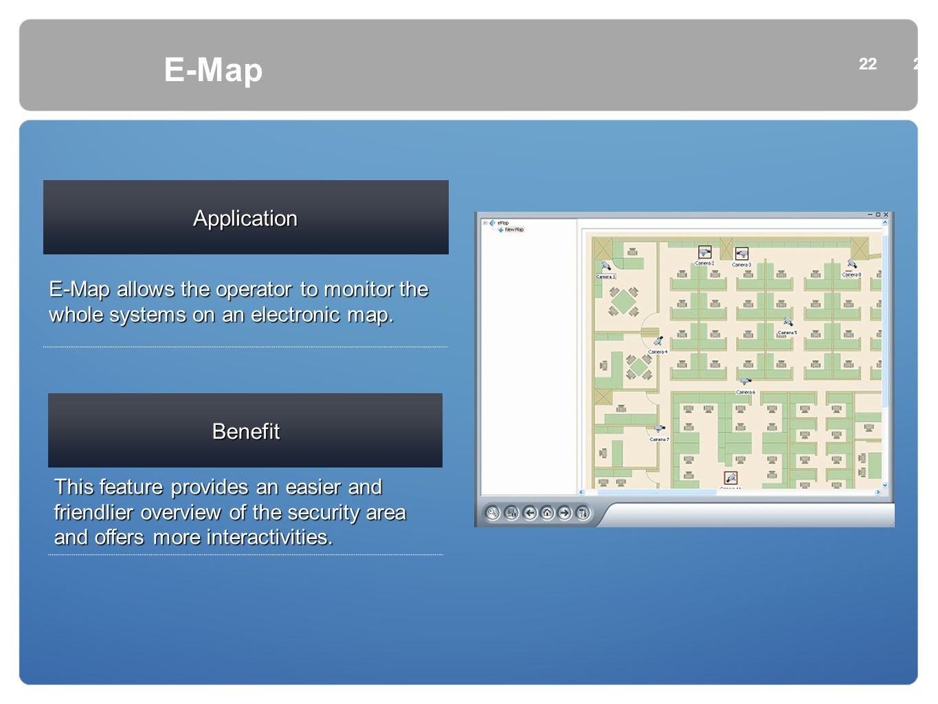 E-Map Application Benefit