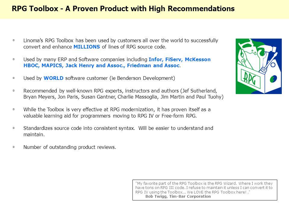 Linoma's RPG Toolbox TM © Copyright ppt download