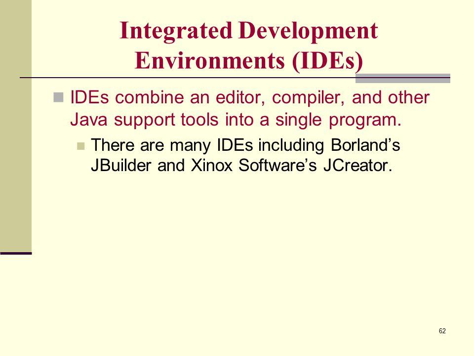 an integrated development environment ide is a ________