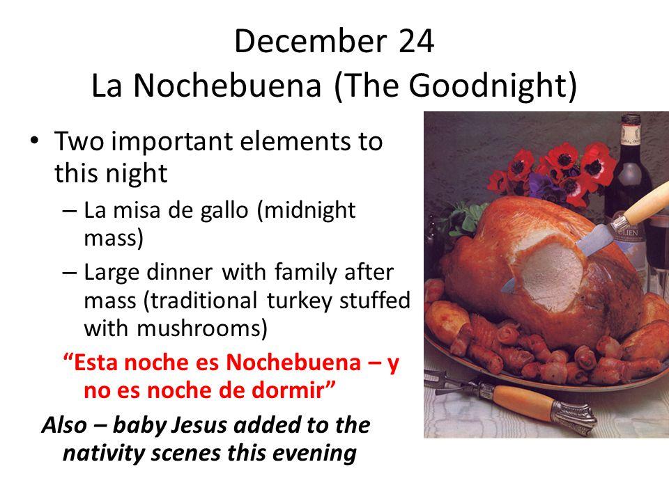 December 8 January 6 The Christmas Season In Spain Ppt Video