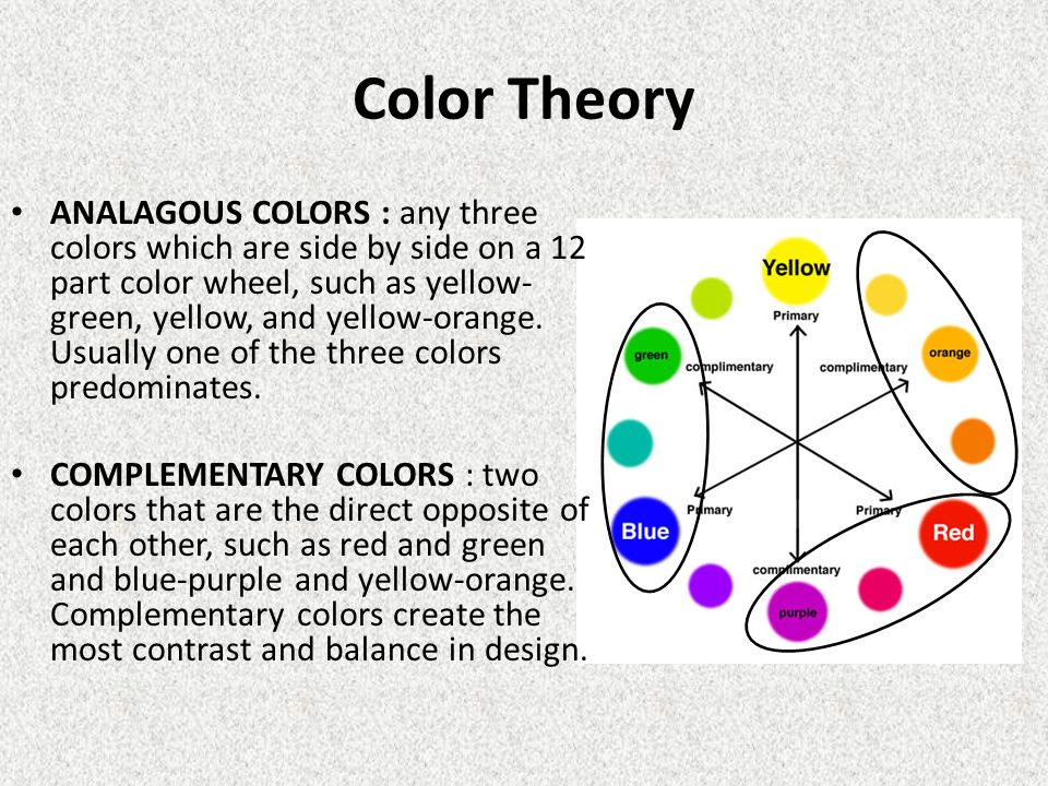 Color Wheel Primary Colors Red Yellow And Blue Ppt Video Online