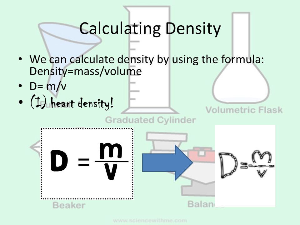 how to find volume using w v concentration