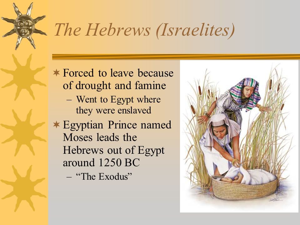 The Hebrews (Israelites)
