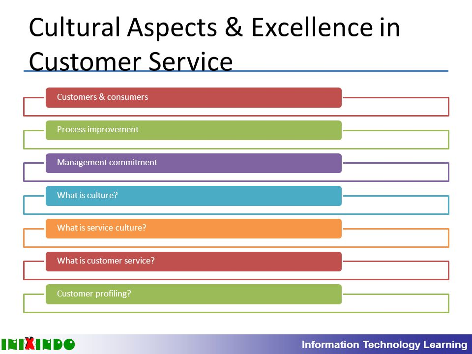 culture and customer service excellence How to turn customer service into your secret weapon using the best customer support skills and tips available download the free customer service guide as pdf  tips to implement a customer service culture that fosters excellence measuring the quality of your customer service  we either fail to provide great customer service and lose.