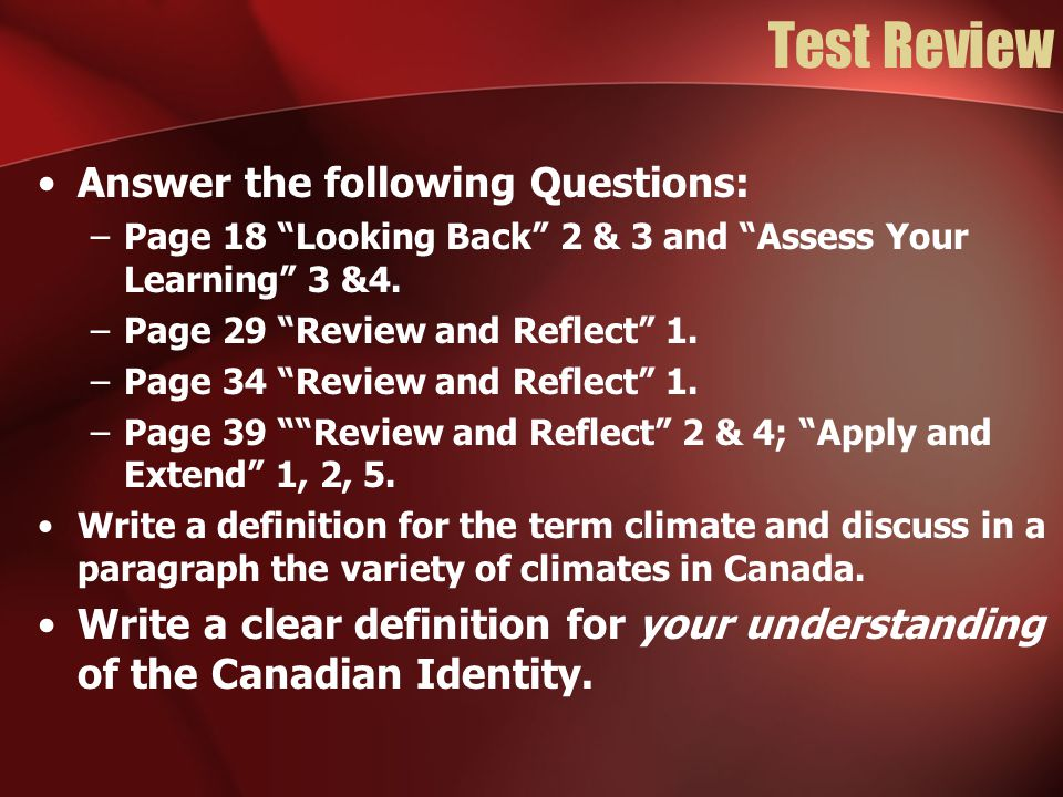 Grade 8 Social Studies Canadian Identity  - ppt video online download