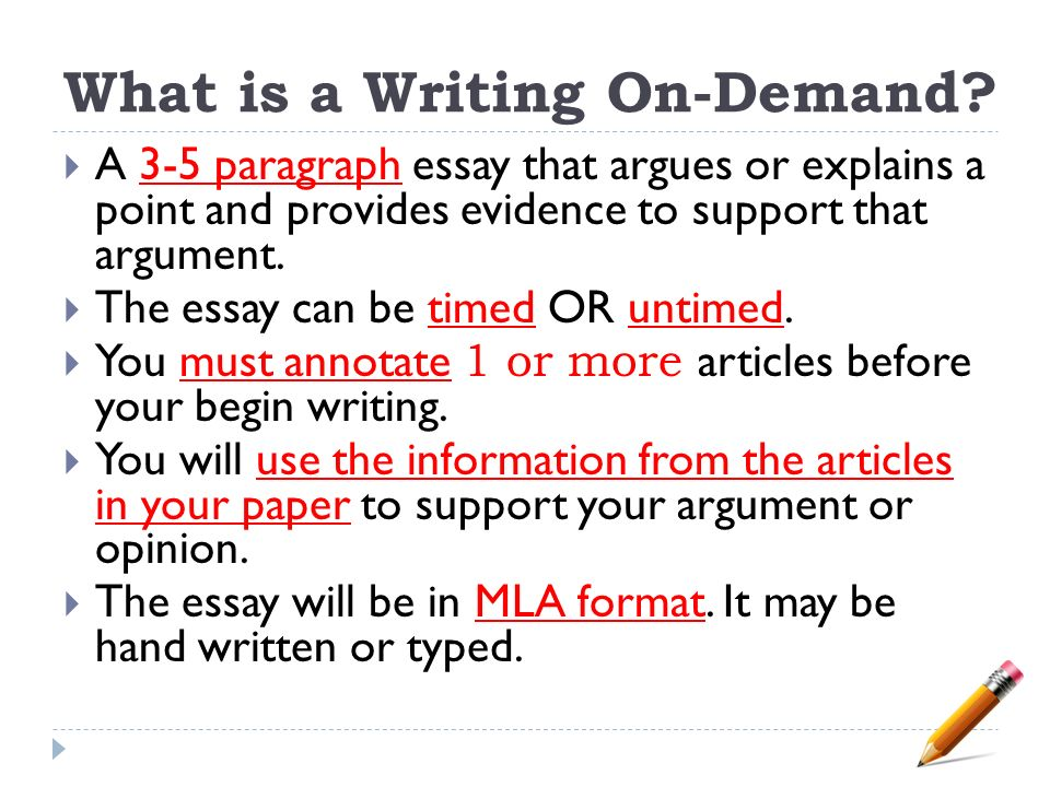 guidelines for essay writing