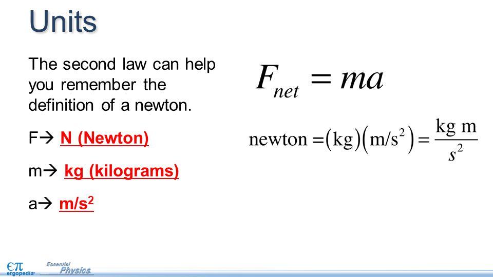 newton to kg