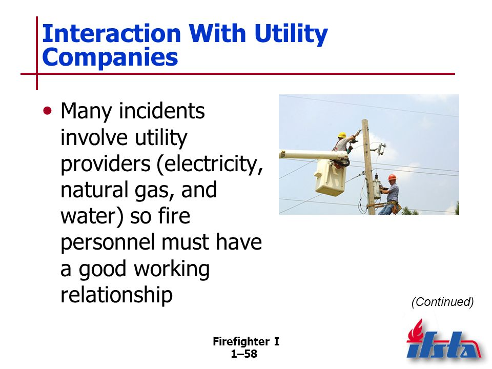 Interaction With Utility Companies