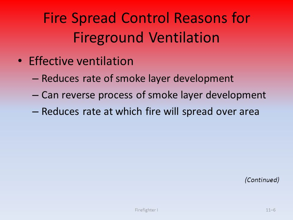 Cvfd Training Ventilation Practices Ppt Video Online