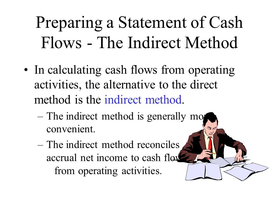Preparing a Statement of Cash Flows - The Indirect Method
