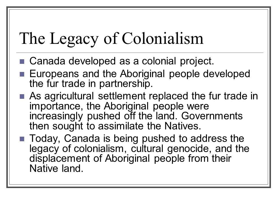 colonialism in canada aboriginal