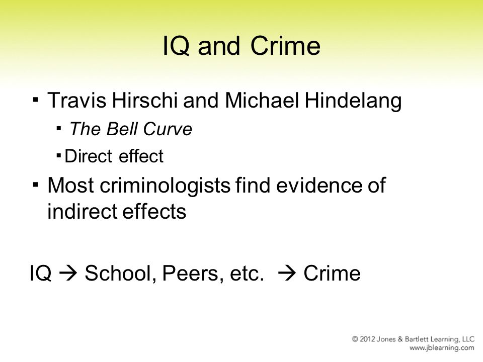 psychological theories of crime pdf