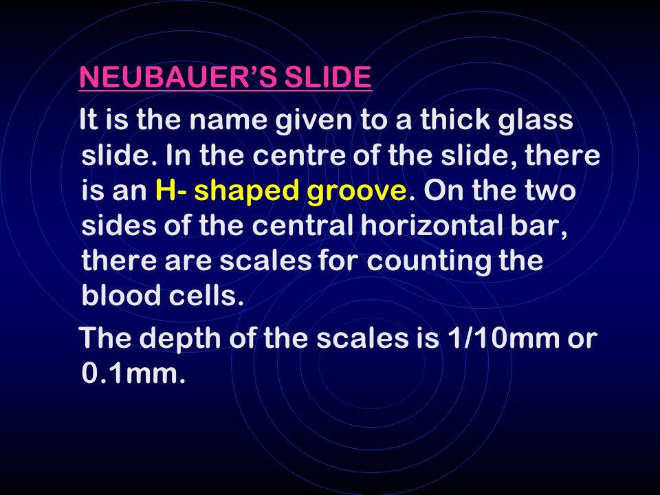 Ppt study of neubauer's chamber powerpoint presentation id:461514.