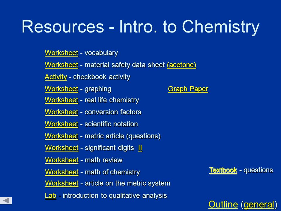 Chemistry worksheets with powerpoint presentations ppt download resources intro to chemistry urtaz Choice Image