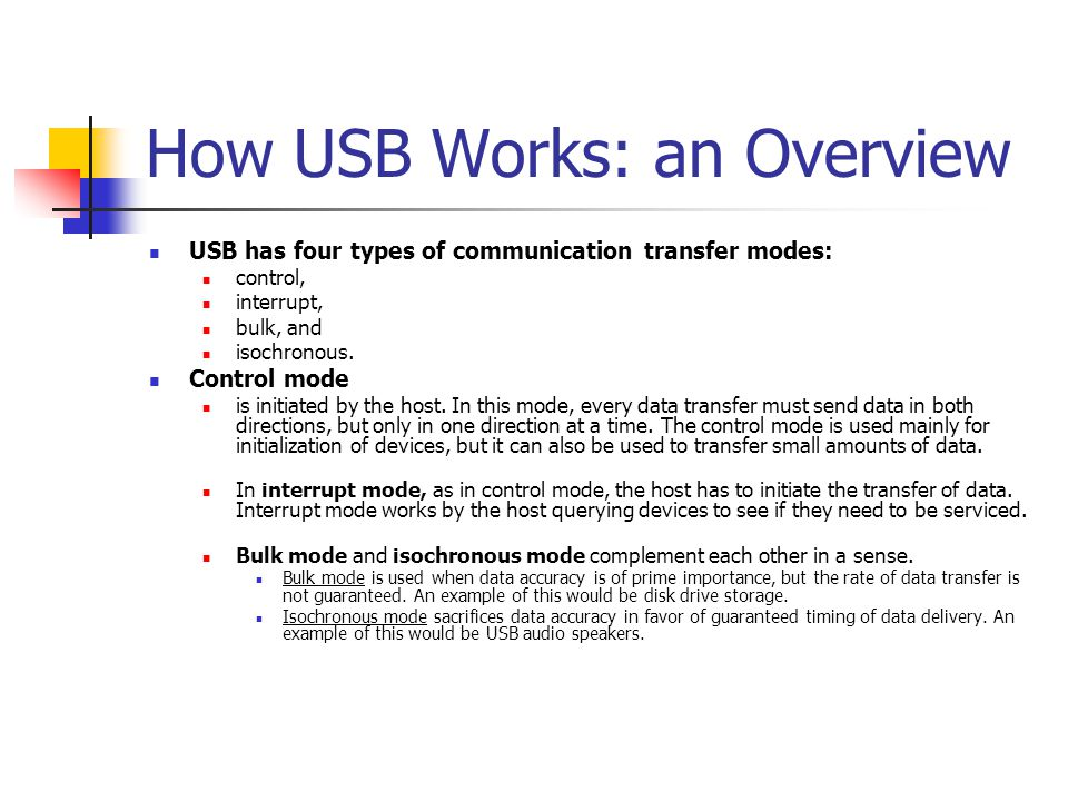 What is USB? Prototyping Unit  - ppt download