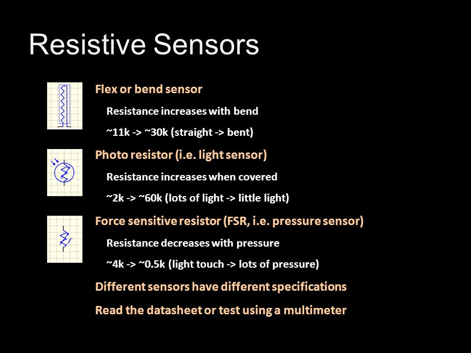 Basic Circuits – Lab 2 Arduino and Sensors - ppt download