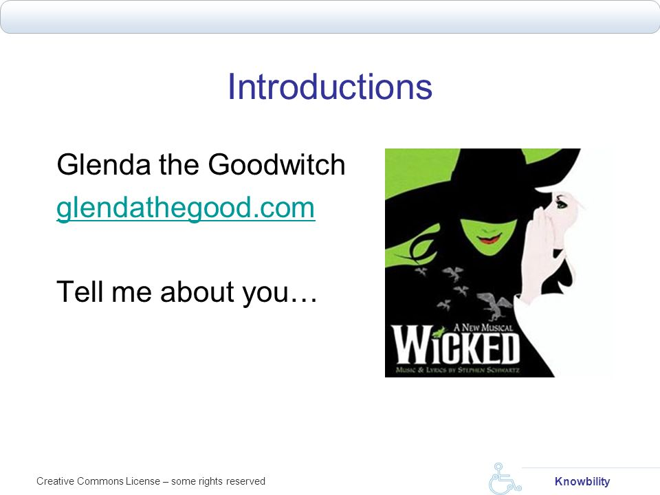 Introductions Glenda the Goodwitch glendathegood.com