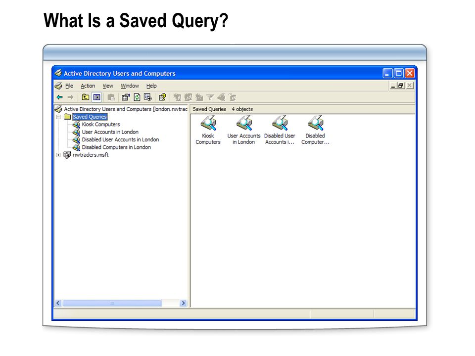 What Is a Saved Query