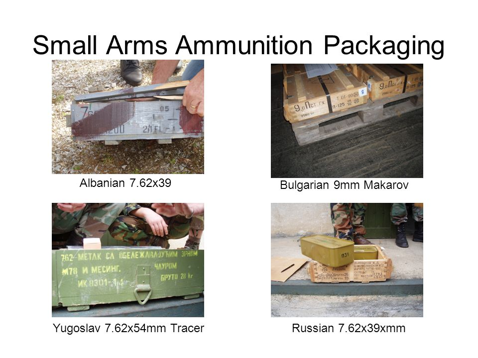 Small Arms Ammunition Packaging