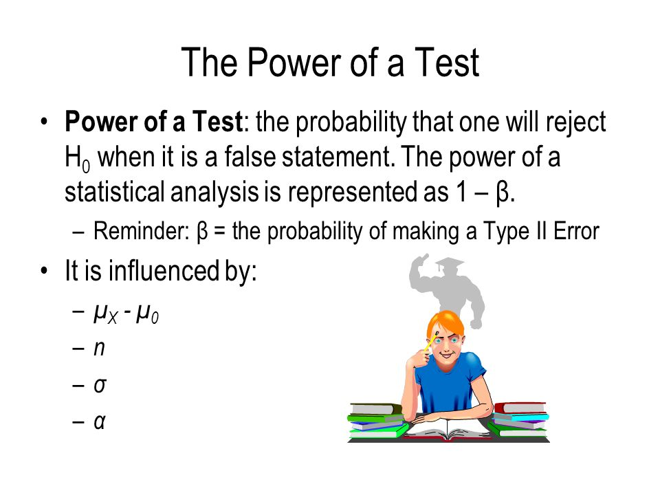 The Power of a Test