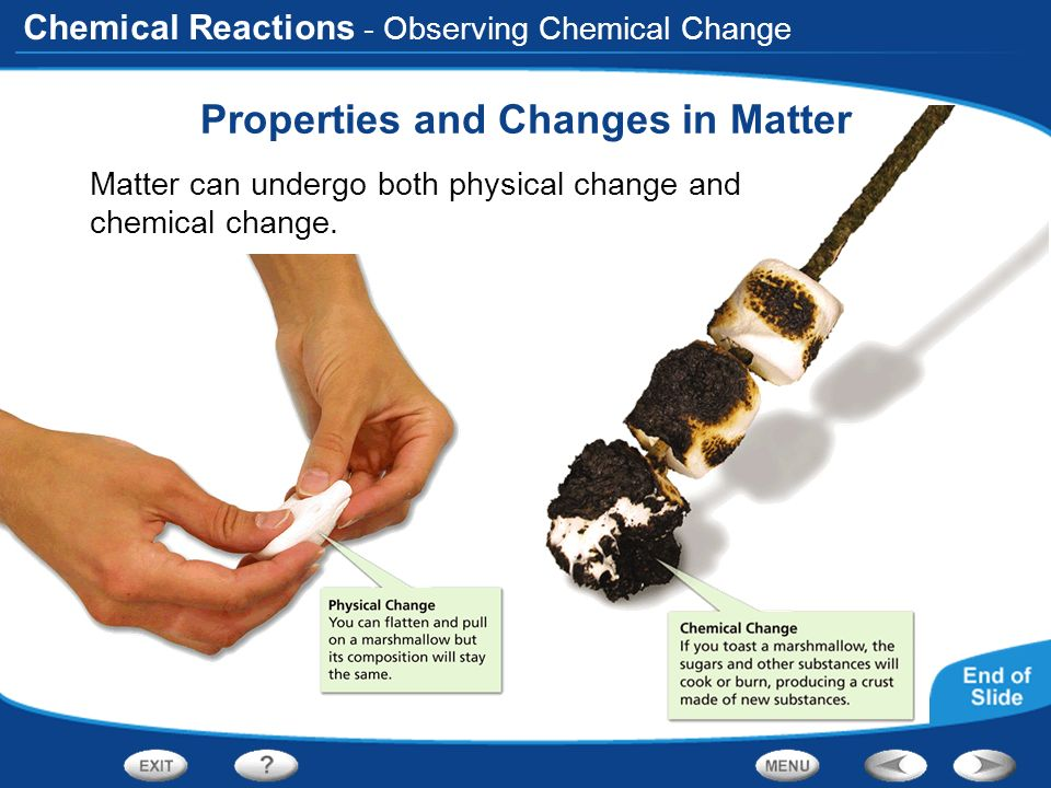 Properties and Changes in Matter