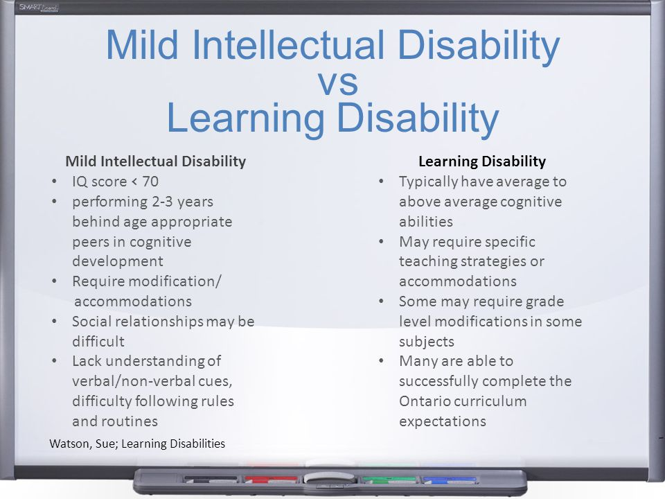 Mild Intellectual Disability Ppt Video Online Download