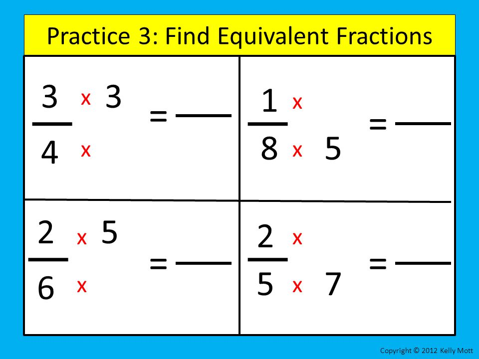 how to find x in a fraction