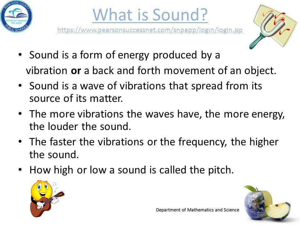 What Is Sound Pearsonsuccessnet Com Snp Login