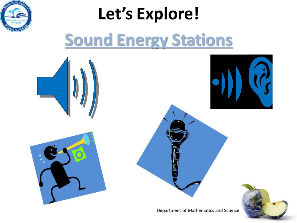 Let's Explore! Sound Energy Stations