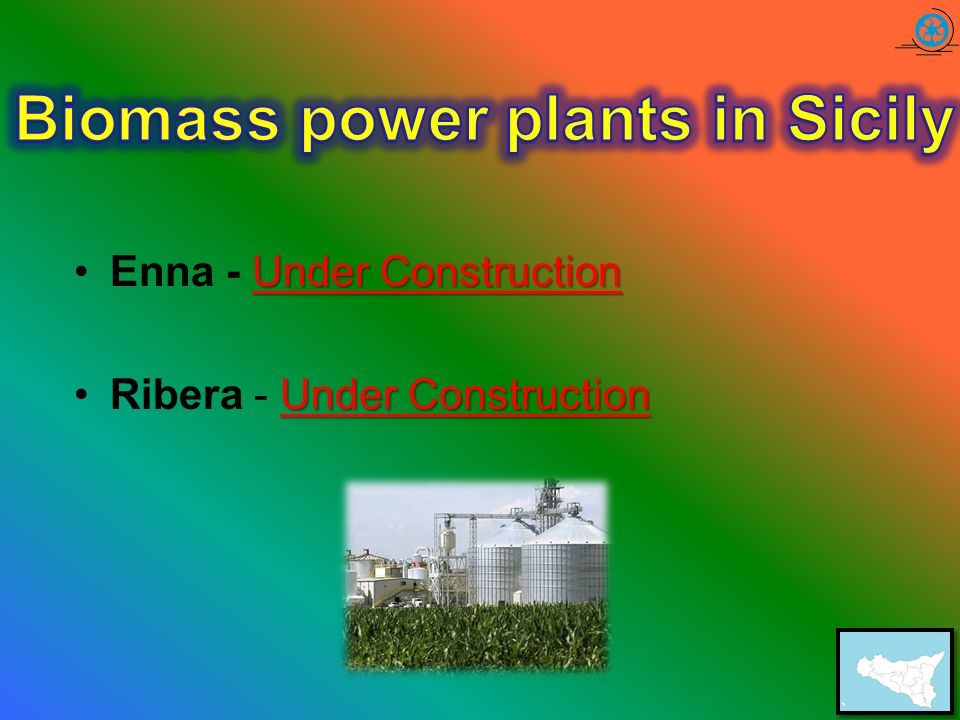 Biomass power plants in Sicily