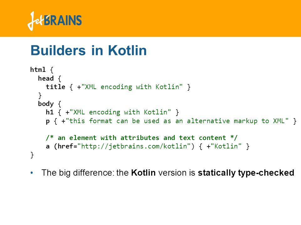 The Kotlin Programming Language - ppt video online download