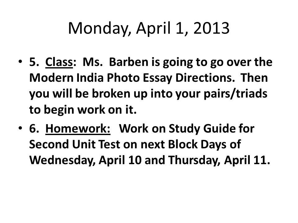 essay on modern india