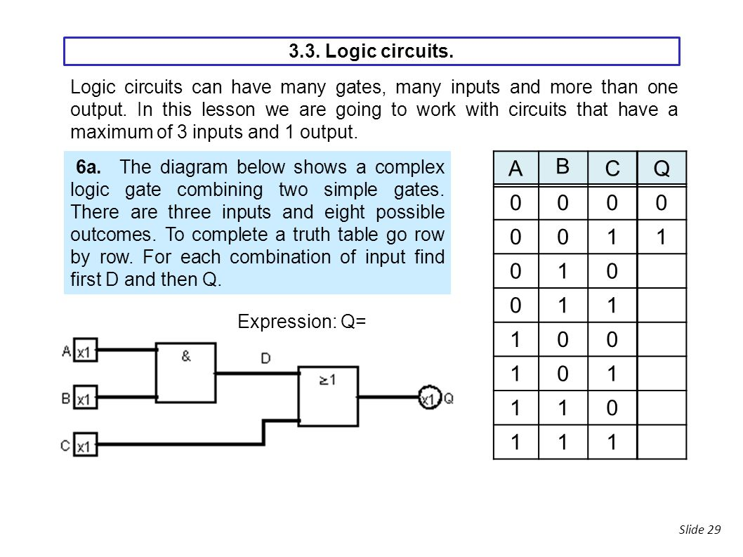 Logic Gates Diagram And Truth Table Wiring Library Basic Circuits Ppt Download