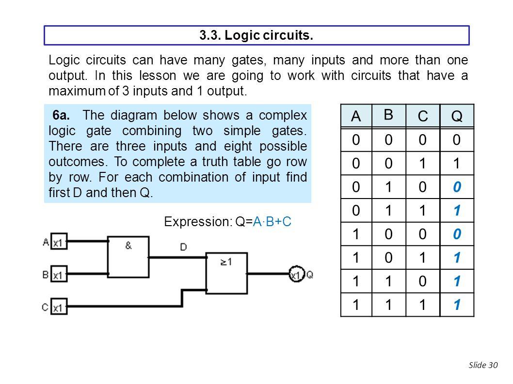 3 Digital Electronics Ppt Download Simple Logic Circuit Circuits