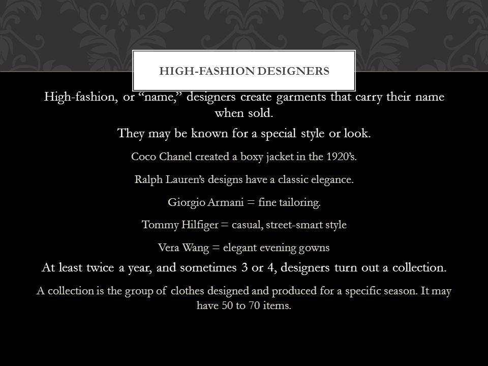 Fashion Designers Ppt Video Online Download