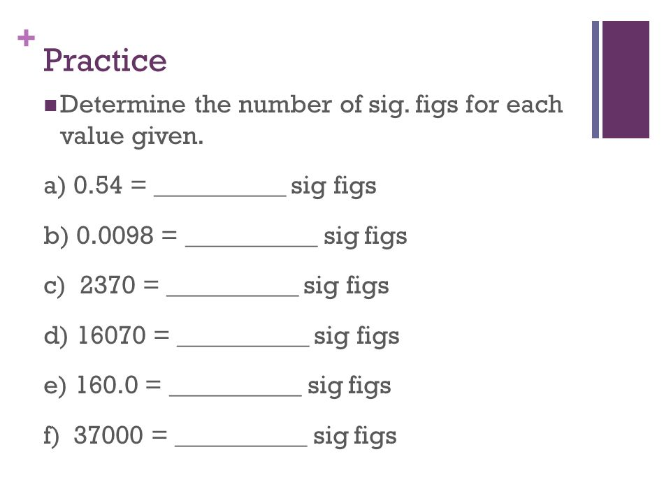 Significant Figures Ppt Video Online Download