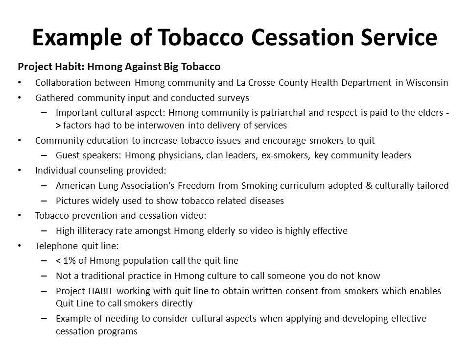 establish and sustain tobacco cessation programs ppt video online download. Black Bedroom Furniture Sets. Home Design Ideas