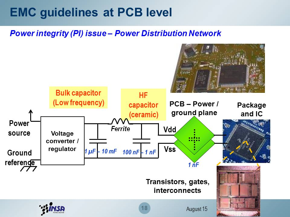 Design Guidelines For Emc Of Components Ppt Download