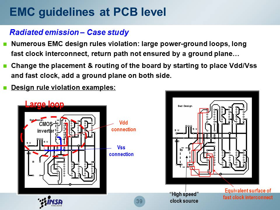Design guidelines for EMC of Components - ppt download