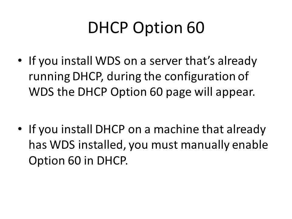 Installing Windows Deployment Service - ppt download