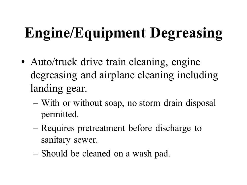 BMPs for Containment and Disposal EPA's Cosmetic Cleaning - ppt download