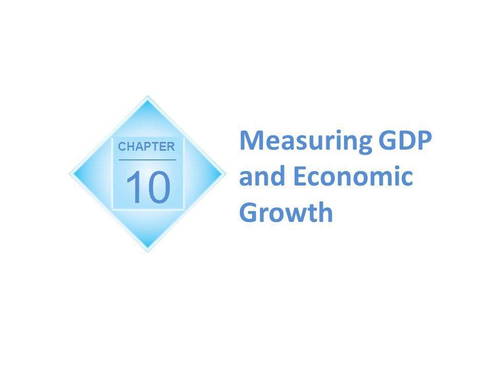 10 Measuring GDP and Economic Growth CHAPTER