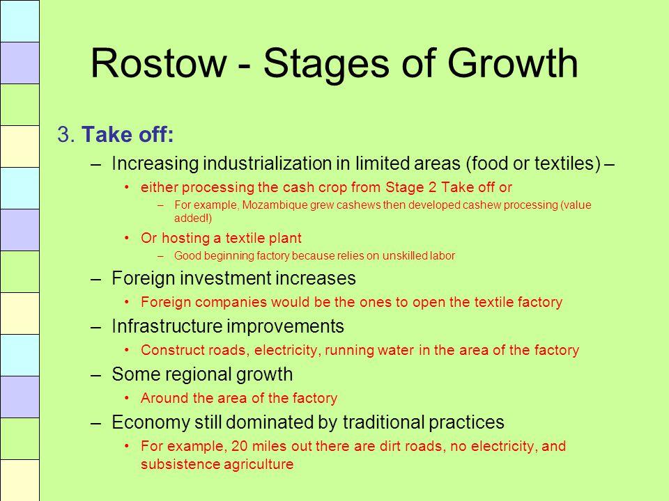 rostows development model examples